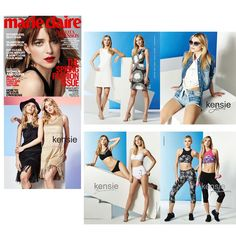 kensie in Marie Claire - March 2016 - http://kensiefragrance.com/blog/kensie-in-marie-claire-march-2016/