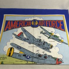 #WWII American 8th #AirForce Bases UK War Runyeard Memory Designs Tea Towel