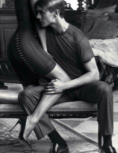 VINCENT LACROCQ & HELENA CHRISTENSEN FOR GQ STYLE GERMANY FALL/WINTER 2013
