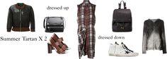Summer Tartan x2  #LookoftheWeek #fashion #style