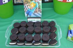 Teenage Mutant Ninja Turtles Birthday Party Ideas   Photo 5 of 9   Catch My Party