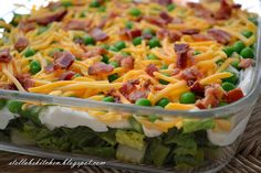 Seven-Layer Salad - Fabulously delicious salad.
