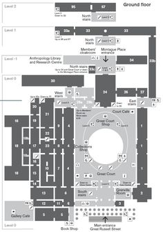 British Museum - Floor plans and galleries