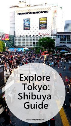 The Shibuya area in Tokyo is a popular district for shopping, entertainment and nightlife. It's located between the equally popular Shinjuku and Harajuku areas Japan Travel Guide, Tokyo Travel, Asia Travel, Travel 2017, Japon Tokyo, Shibuya Tokyo, Kyoto, Visit Tokyo, Visit Japan