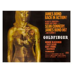 """""""Goldfinger,"""" Film Poster 