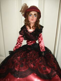 Glass Eyed Boudoir Doll