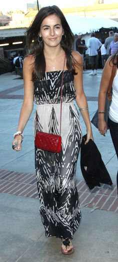 Camilla is stunning! love that maxi.