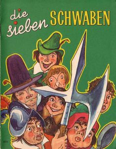 Die Sieben Schwaben - Werbe-Märchenheft - 60er www.eichwaelder.de