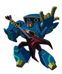 Transformers Animated Soundwave