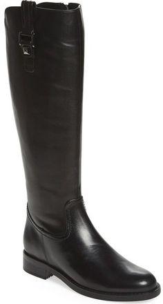 8bf78433d40d Blondo  Velvet  Waterproof Riding Boot (Women) (Regular  amp  Wide Calf