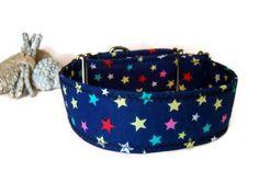 Martingale estrellas.Collar de perro.Estrellas.Collar anti escape.Collar para…