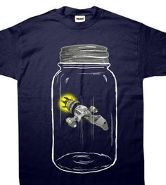Oh gosh, this is so cute and awesome. So many T-shirts on the wishlist, so little time...