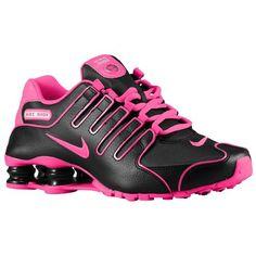 Nike Shox NZ - Women\u0027s - Running - Shoes - Black/White/Hyper Pink