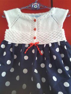 koton ip ve kumaş kombini bebek ve çocuk elbisesi