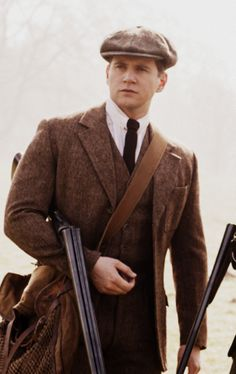 Tom Branson can't help but look dashing while on the hunt. | Downton Abbey, as seen on Masterpiece PBS