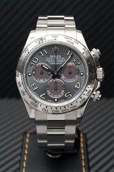 Rolex [NEW] 116509 Daytona White Gold Grey Dial 40mm Watch (Retail:HK$269,300) - Easter Surprise:- HK$206,000.