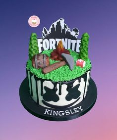 5th Birthday, Birthday Cake, Sweet Games, Easy Cake Decorating, Festa Party, Cake Tutorial, Cake Designs, Fondant, Sweets