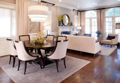 Urban Sophisticate- Transitional Home in Wrigleyville - eclectic - dining room - chicago - Lisa Wolfe Design, Ltd