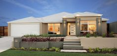 Home Buyers Display Homes:  Vision Facade. Visit www.localbuilders.com.au/display_homes_perth.htm for all display homes in Perth