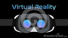 Virtual Reality Goggles VR Headset Vector Black Stock Vector - Illustration of glasses, simple: 92595286 Virtual Reality Goggles, Vr Headset, Simple Backgrounds, Cat Ears, In Ear Headphones, Stock Photos, Glasses, Illustration, Eyewear