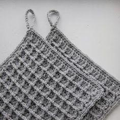 Haak by Daphne Crochet Potholders, Crochet Quilt, Crochet Home, Crochet Gifts, Diy Crochet, Crochet Stitches Patterns, Stitch Patterns, Knitting Patterns, Crochet Stars
