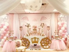 Minnie Mouse Royal Princess Birthday Party Ideas | Photo 1 of 26