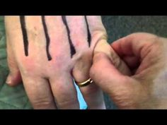 Sinus and Post Nasal Drip Relief - hand reflexology tip - YouTube