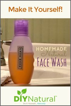 This homemade face wash is a natural facial cleanser that works great, is inexpensive, and easy to make. You can also tailor it to your specific skin type.