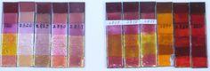 thompson transparent enameling color samples - Google Search