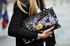 clutches like this make hailing a cab a breeze.