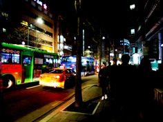 #hongdae at #night #city #southkorea #korea #night #photography