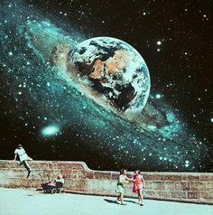 Retrospective Nostalgia-Collage Art By Ayham Jabr.