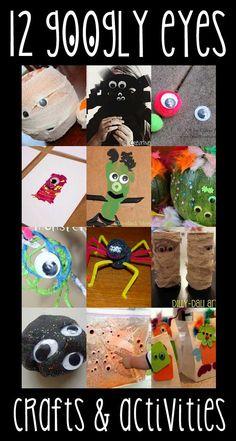 Googly Eyes Crafts & Activities for Halloween
