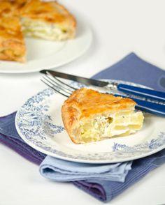Tourte aux pommes de terre au Boursin cuisine ail et fines herbes - Et si c'était bon...