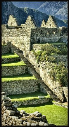 """Machu Picchu, Cusco, Peru - Most archaeologists believe that Machu Picchu was built as an estate for the Inca emperor Pachacuti (1438–1472). Often referred to as the """"Lost City of the Incas""""."""