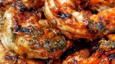 "Marinated Grilled Shrimp, grilled indoors or out -- ""A very simple and easy marinade that makes your shrimp so yummy you don't even need cocktail sauce! Don't let the cayenne pepper scare you, you don't even taste it. My 2 and 4 year-olds love it and eat more shrimp than their parents!"""