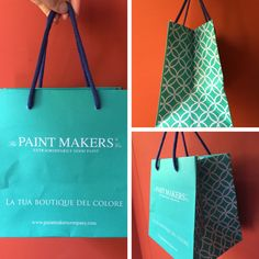 Love the new #design of The Paint Makers Co. #shoppers.  Next season we are going to be #bold with #colors!
