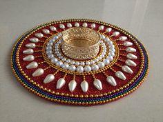 Tealight holder baseIndian wedding Indian favor boho