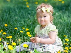 Cute Children Girl