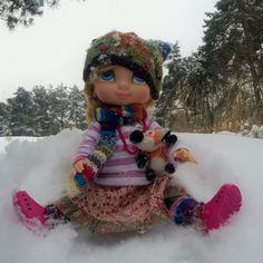 Snow play time! (My Instagram photo.)