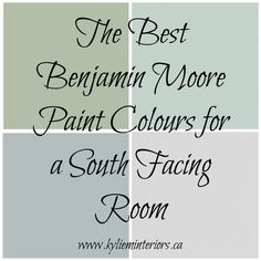 How to Choose Paint Colours fora South Facing (Southern Exposure) Room A South facing room can be one of the most satisfying rooms to choose paint colours for. Unlike a North facing room, which relies heavily on paint colour and lighting to feel lively,a South facing room feels warm and inviting all on its ownas it gets direct infusions of natural sunlight all day long. (How to choose paint colours for a North facing room here) Source - Air B n' B Just looking at this warm room makes…