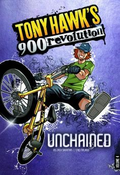 Unchained: Volume Four (Tony Hawk's 900 Revolution) by M. Zachary Sherman http://www.amazon.com/dp/1434234541/ref=cm_sw_r_pi_dp_1x5Twb1T9AHGY