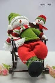 Resultado de imagem para bonecos natalinos em pe