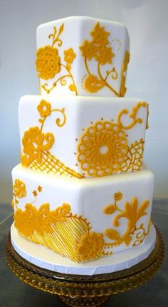 @Janeen Owens Bryce would love a cake like this. Maybe just the top square. Are you game?