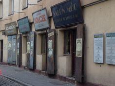 Old shops in the Jewish quarter, Kraków