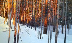 Winter Sunset, 2013. Peter Rotter