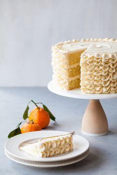 Champagne Mimosa Cake