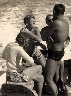 A biography for the history of SCUBA and skin diving, an exclusive for the International Legends of Diving from Portage Quarry in Bowling Green, Ohio. Ethel Kennedy, Nassau, Just Kidding, Diving, America, Kids, Snorkeling, Toddlers, Boys