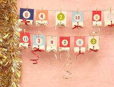 Christmas Advent Calendar for Kids - Mr Printables