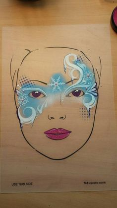 Adult Face Painting, Skull Painting, Face Painting Designs, Painting For Kids, Frozen Face Paint, Christmas Face Painting, Homemade Face Paints, Maquillage Halloween, Machine Embroidery Applique